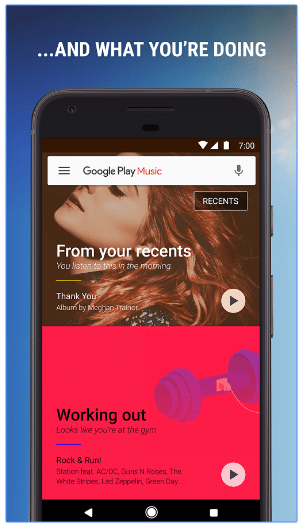 google play music app discovery