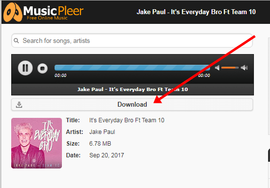 How to use MusicPleer and Download Songs?