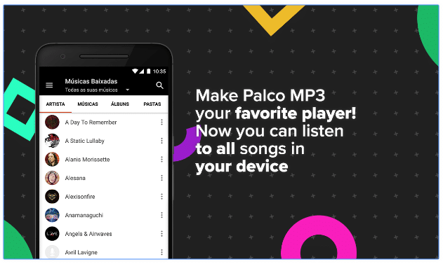 palco mp3 player