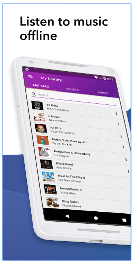 spinrilla offline listening