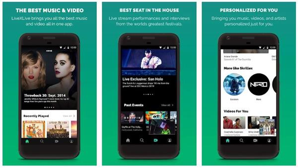 Download LiveXLive app Streaming Music and Live Events